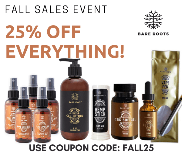 25% Discount store-wide with code FALL25